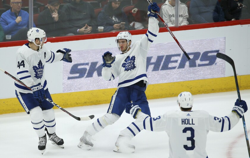 Maple Leafs Coyotes Hockey