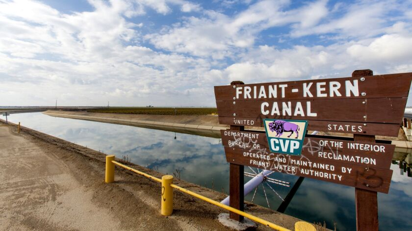 The Friant-Kern Canal is an irrigation canal and part of the Central Valley Project aqueduct.