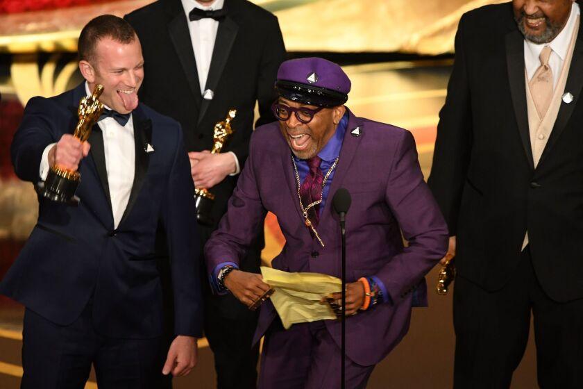 """La cinta """"BlacKkKlansman"""" le dio a su creador Spike Lee un importante Oscar."""