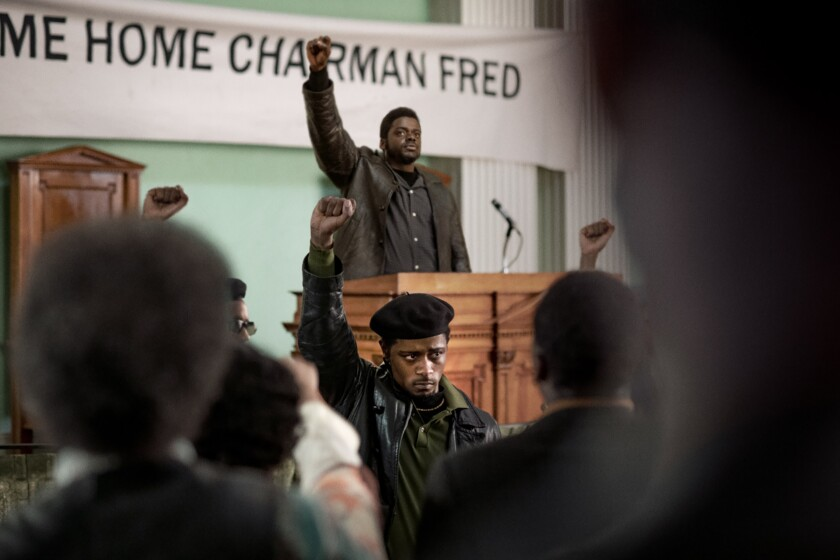 """LaKeith Stanfield and Daniel Kaluuya in """"Judas and the Black Messiah."""""""