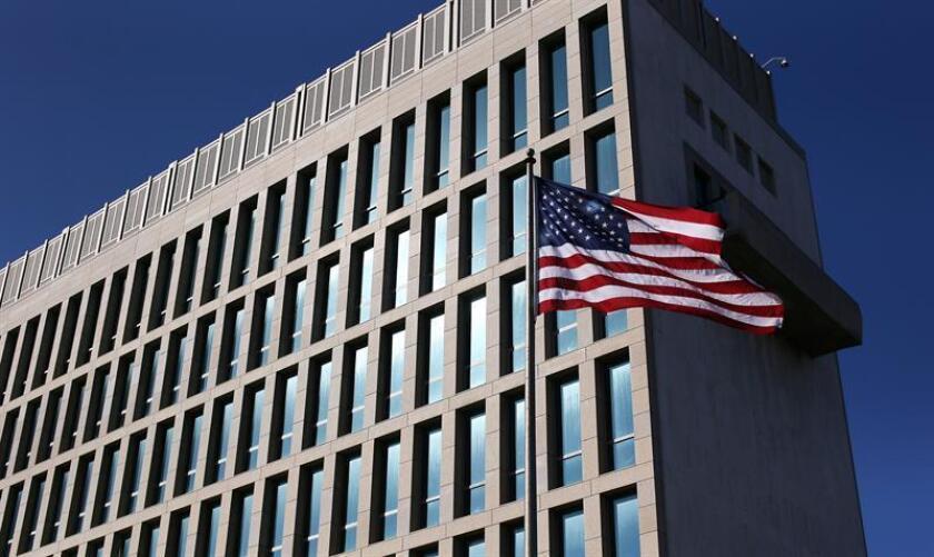 Imagen, de la embajada de Estados Unidos en La Habana (Cuba). EFE/Archivo