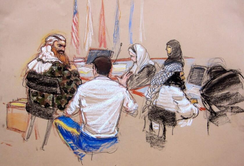Khalid Sheikh Mohammed, Walid bin Attash, Army Capt. Jason Wright