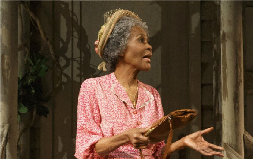 "Cicely Tyson in ""The Trip to Bountiful."""
