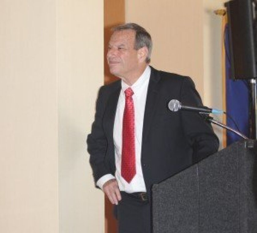 Bob Filner during a mayoral debate last year in La Jolla. File
