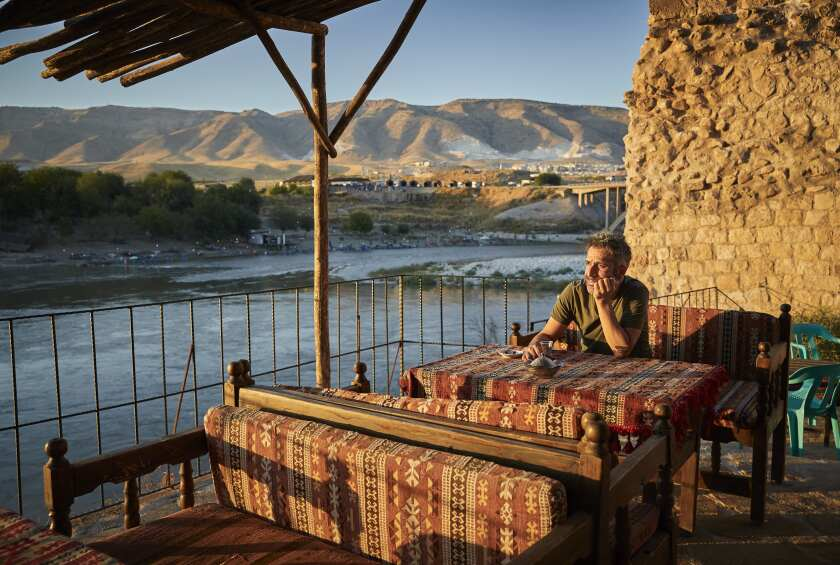 Cetin Bato on the Tigris