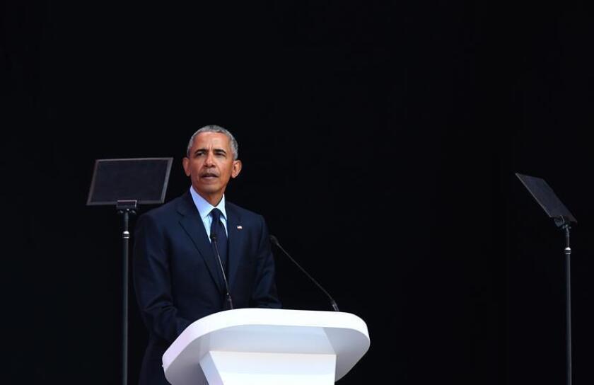 El expresidente estadounidense Barack Obama. EFE/Archivo