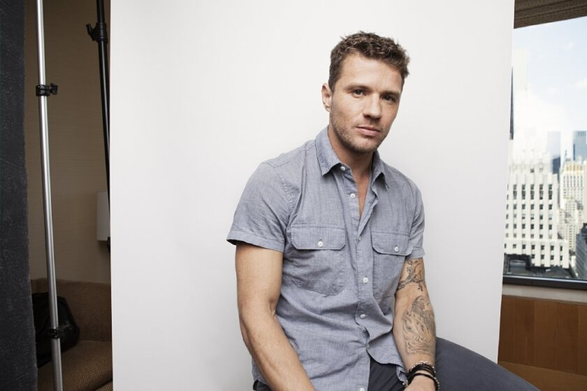 "Ryan Phillippe talks about his directorial debut, ""Catch Hell"""