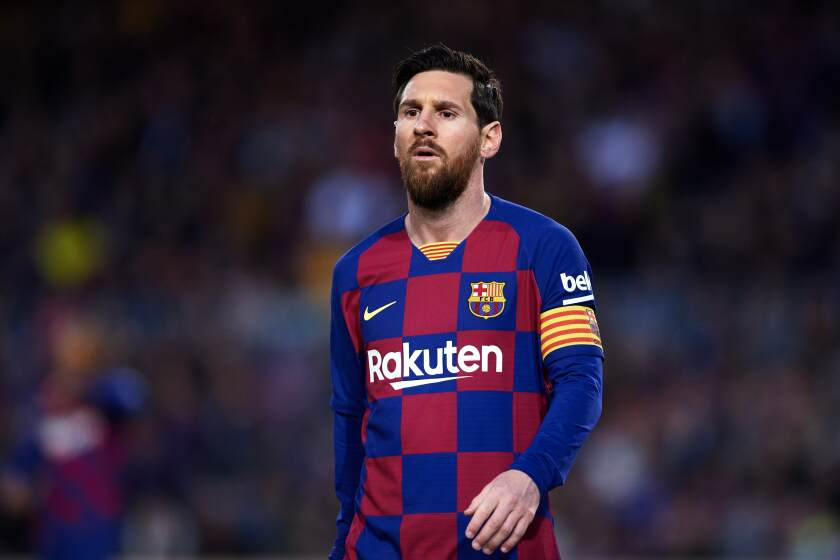soccer on tv fc barcelona returns from coronavirus shutdown los angeles times soccer on tv fc barcelona returns from