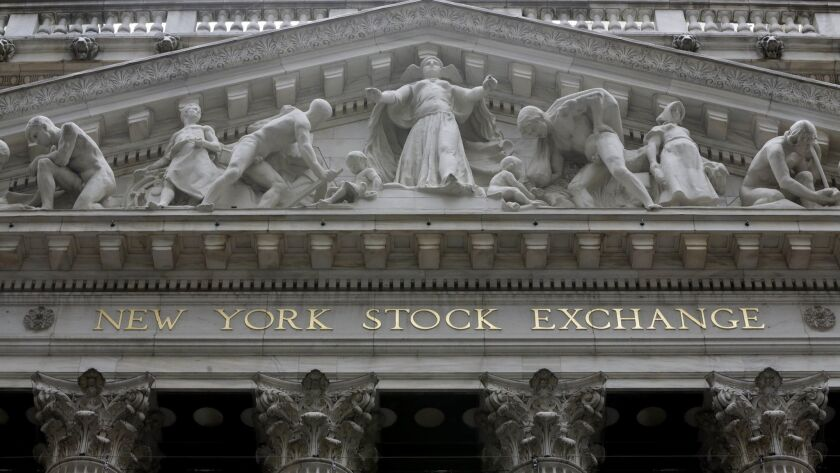 In midday trading, the S&P 500 briefly topped its all-time closing high of 2,872 set Jan. 26.