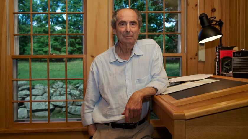 Author Philip Roth in 2010.