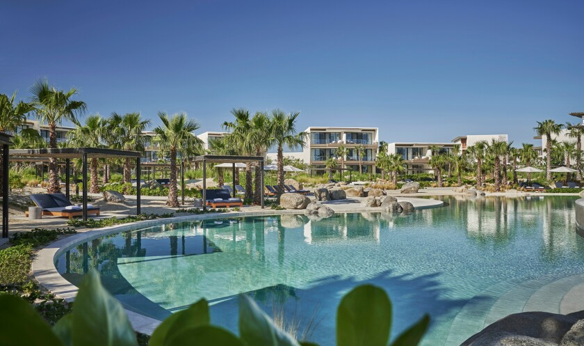 The Four Seasons Resort Los Cabos at Costa Palmas is donating a two-night stay in an ocean view room.