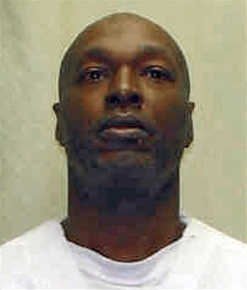 FILE- This undated photo released by the Ohio Department of Correction and Rehabilitation shows Romell Broom, an Ohio inmate fighting execution. Ohio overhauled its procedure after the failed attempt at rapist Broom's execution, which was halted by Gov. Ted Strickland in September. Executioners tried for two hours to find a usable vein for injection, hitting bone and muscle in as many as 18 needle sticks that Broom said were very painful (AP Photo/Ohio Department of Correction and Rehabilitation, File)