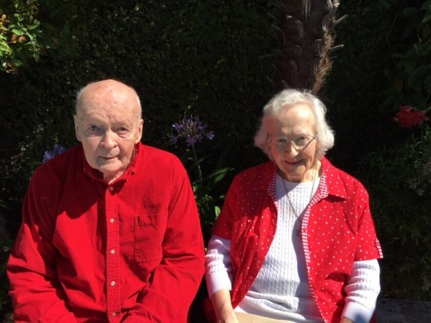 """Father Gerald """"Jerry"""" Gordon served as a Jesuit for 77 years and as a priest for 63 years."""