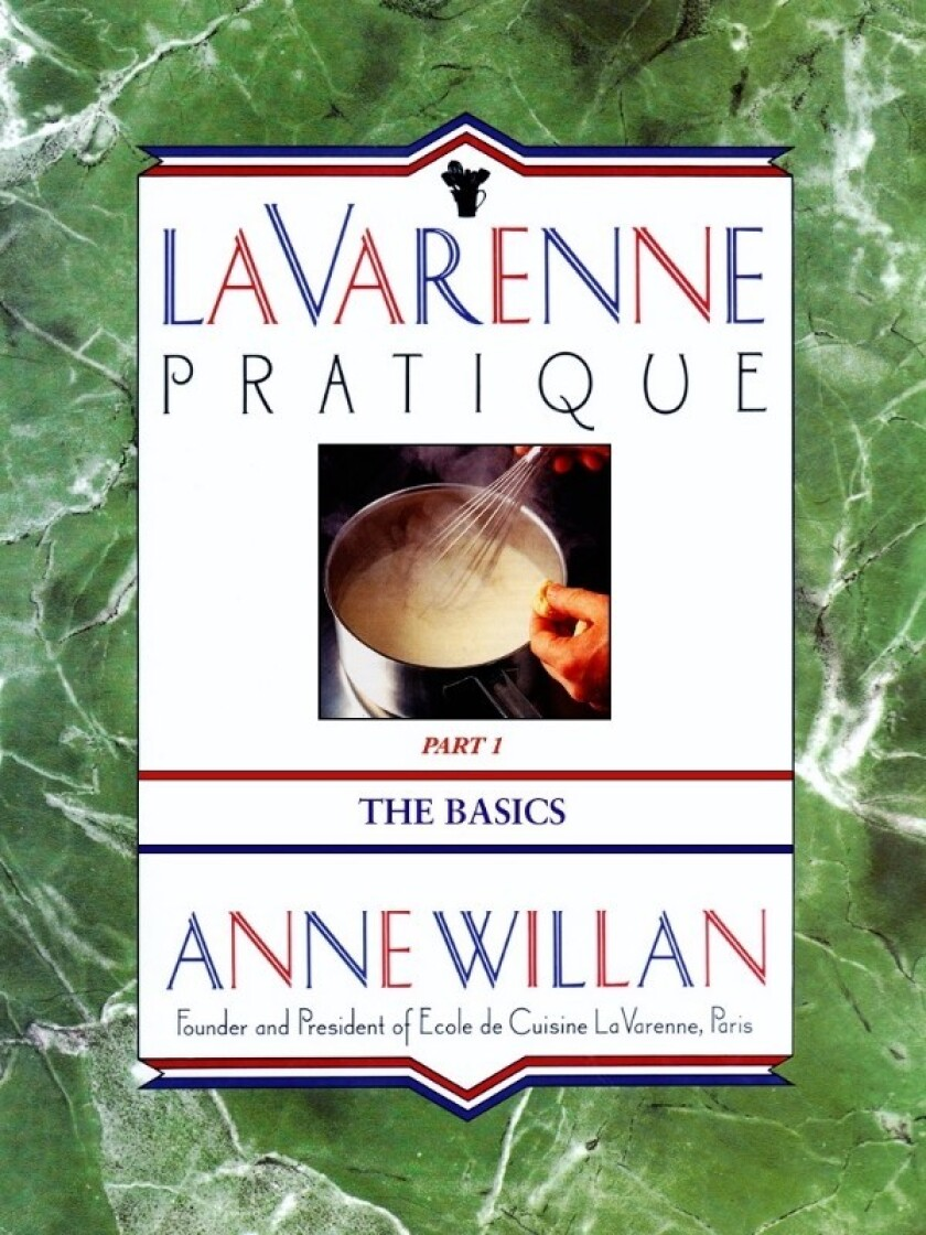 """La Varenne Pratique,"" Anne Willan's classic and long out-of-print French cookbook, is now available as an e-book."