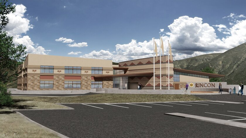 The Rincon Band of Luiseño Indians recently broke ground on a $20 million tribal government administ