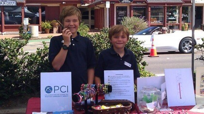 Thomas and Mickey Heine have donated profits from their business T&M World Bead to Project Concern International. Courtesy photo