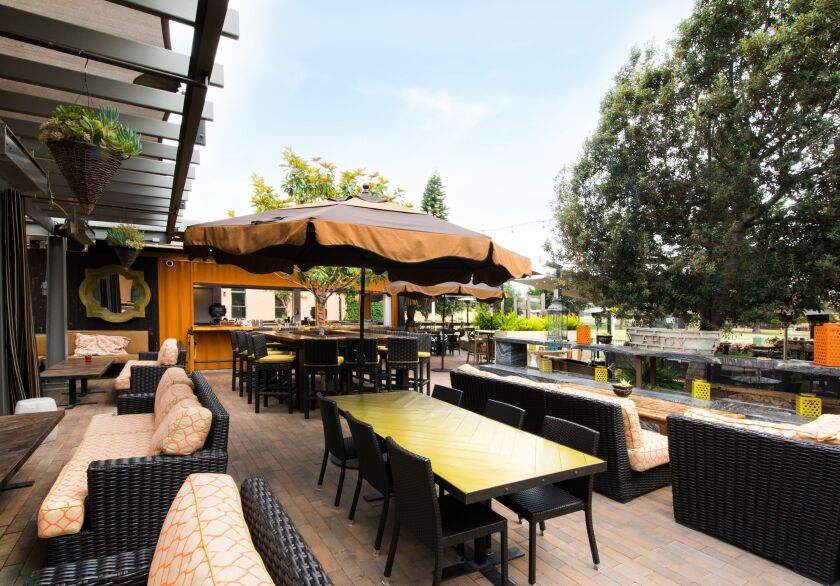 Patio dining is the hallmark of the aptly named Patio Restaurant Group, which includes Liberty Station's Fireside by the Patio.