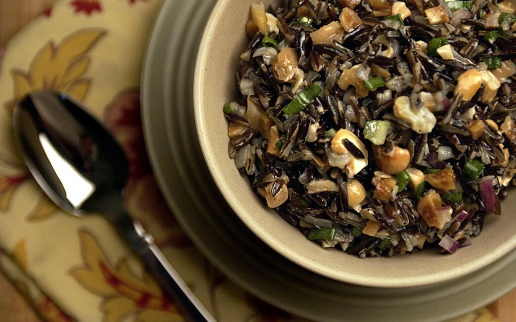 Gulfstream wild rice salad