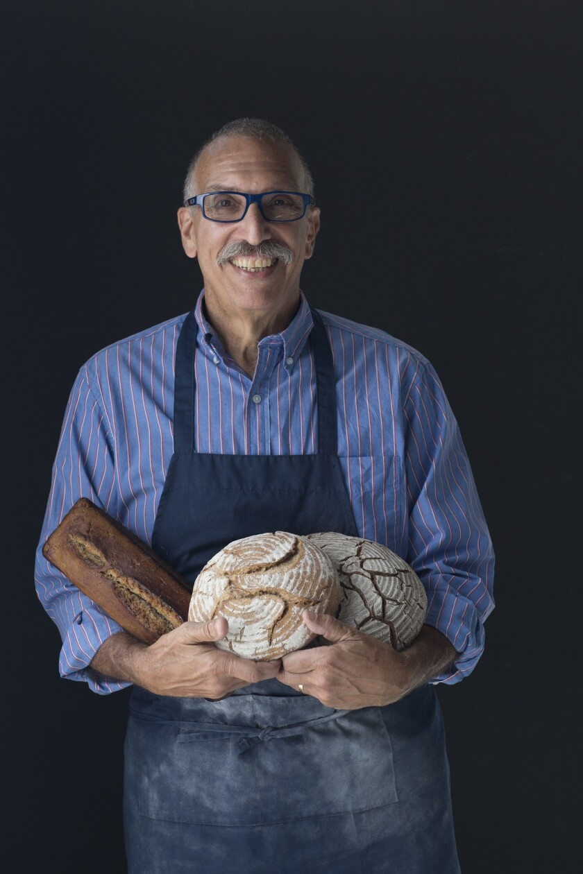 """Stanley Ginsberg will give a cooking demo on """"The Rye Baker: Classic Breads from Europe and America."""""""