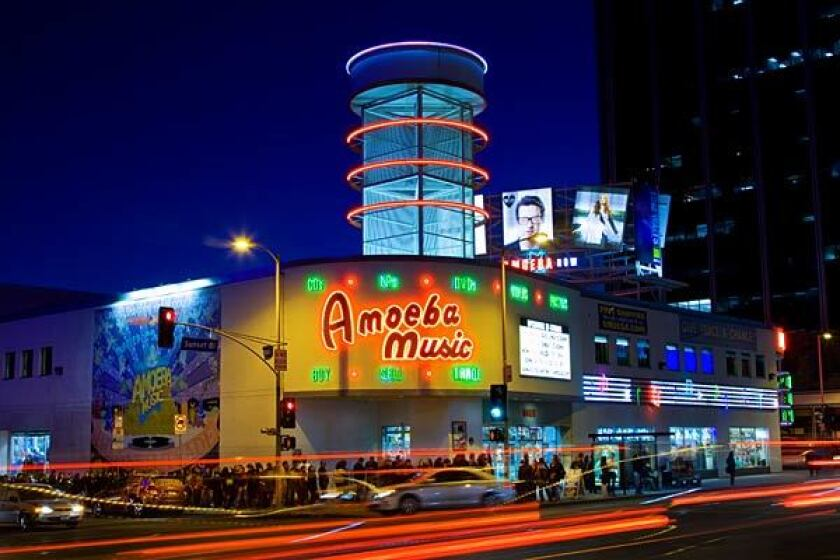 Amoeba Music on Sunset Boulevard in Hollywood