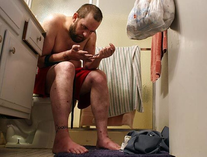 Jason injects black-tar heroin, a cheap, potent form of the drug made in Mexico that has spread to cities and towns across the United States, leading to increased overdoses and often death.