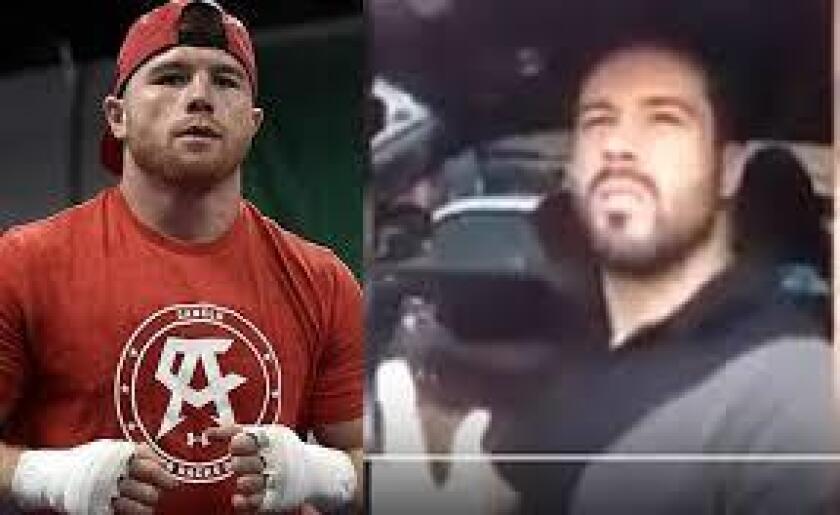 """El hermano del boxeador Saúl """"Canelo"""" ¡Álvarez, Víctor """"El Paletas""""-como le apodan- amedrentó a un agente de la Secretaría de Movilidad (Semov) luego de que éste lo multó por estacionarse en doble fila."""