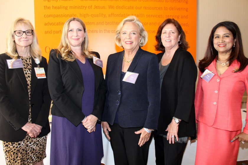 On the Town: Women of Dignity Health organization holds its first luncheon