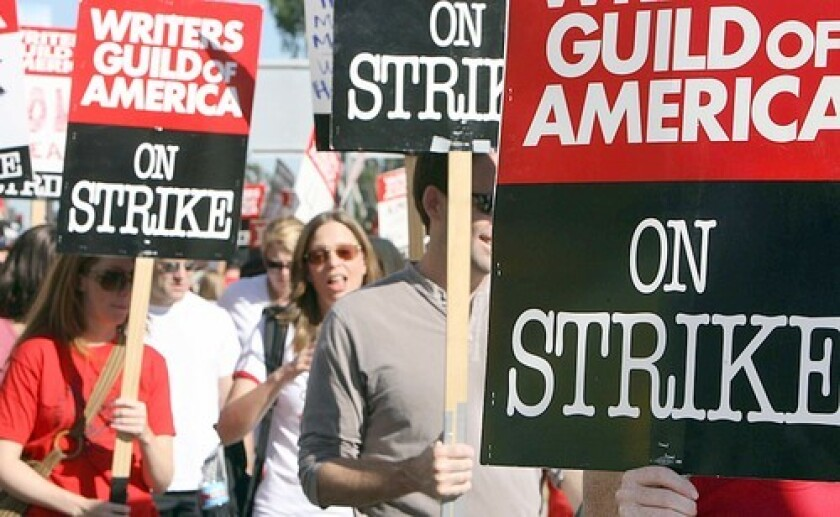 As the strike enters its fifth week, many gung-ho writers continue to find novel ways of surviving the monotony and social awkwardness of the picket lines.