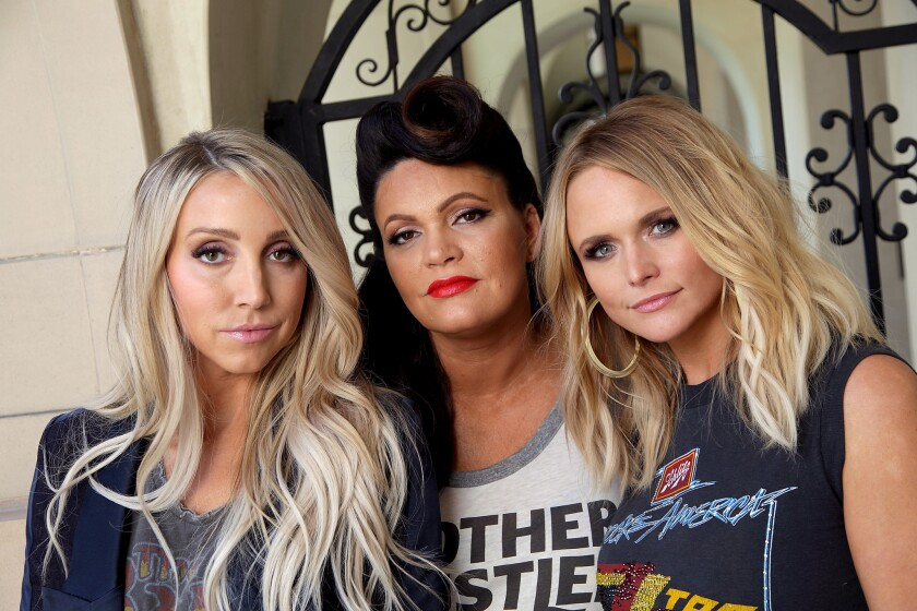HOLLYWOOD, CA., NOVEMBER 6, 2018 ---portrait of Pistol Annies -- the country supergroup featuring Mi