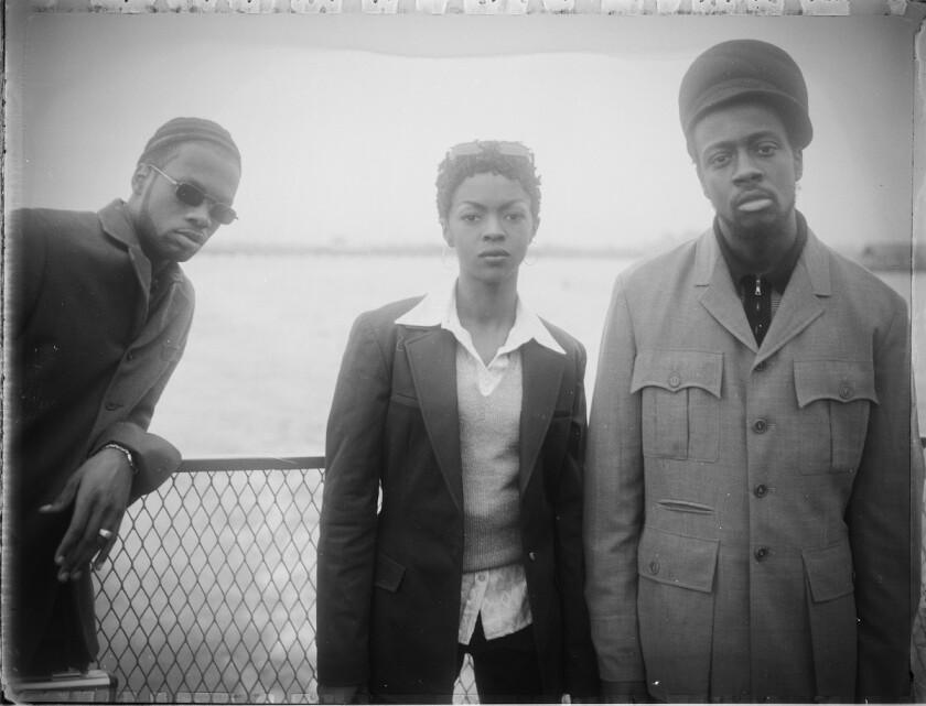 Hip-hop trio the Fugees.
