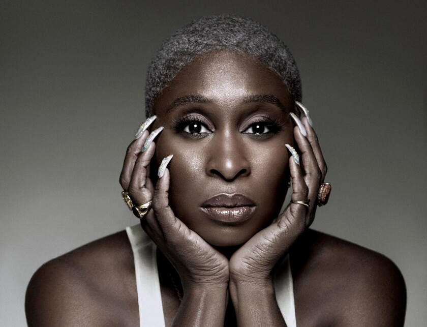 """Cynthia Erivo takes part in the """"National Memorial Day Concert"""" on PBS."""