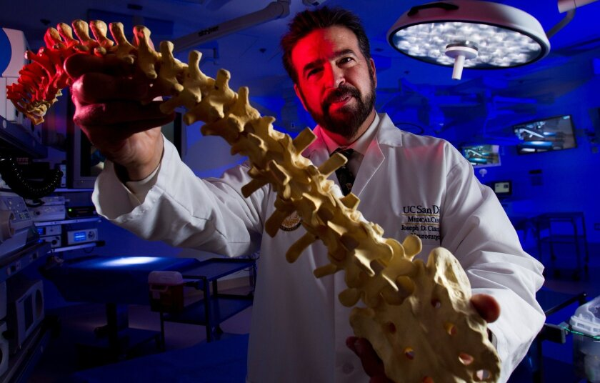 Neurosurgeon and stem cell researcher, Joseph Ciacci M.D. will soon start a clinical trial of stem cells to treat paralysis from spinal cord injury.