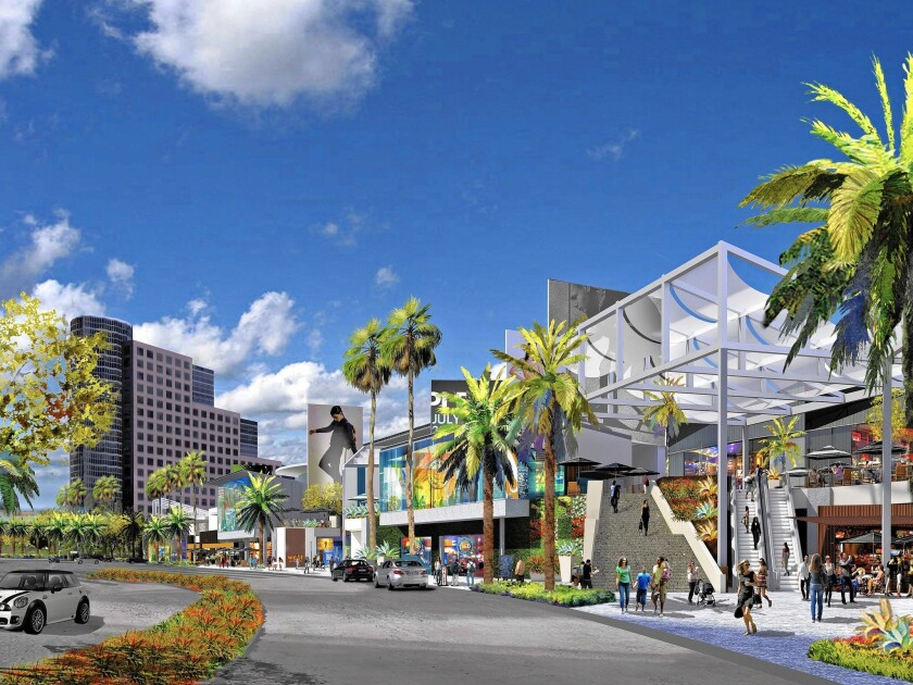 Big changes are planned for the Promenade at Howard Hughes Center in Westchester.
