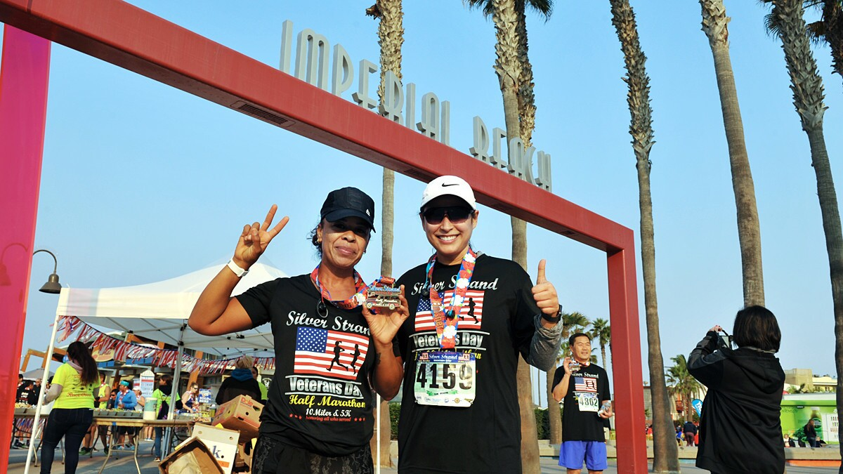 Silver Strand Half Marathon & Veterans Day 5K