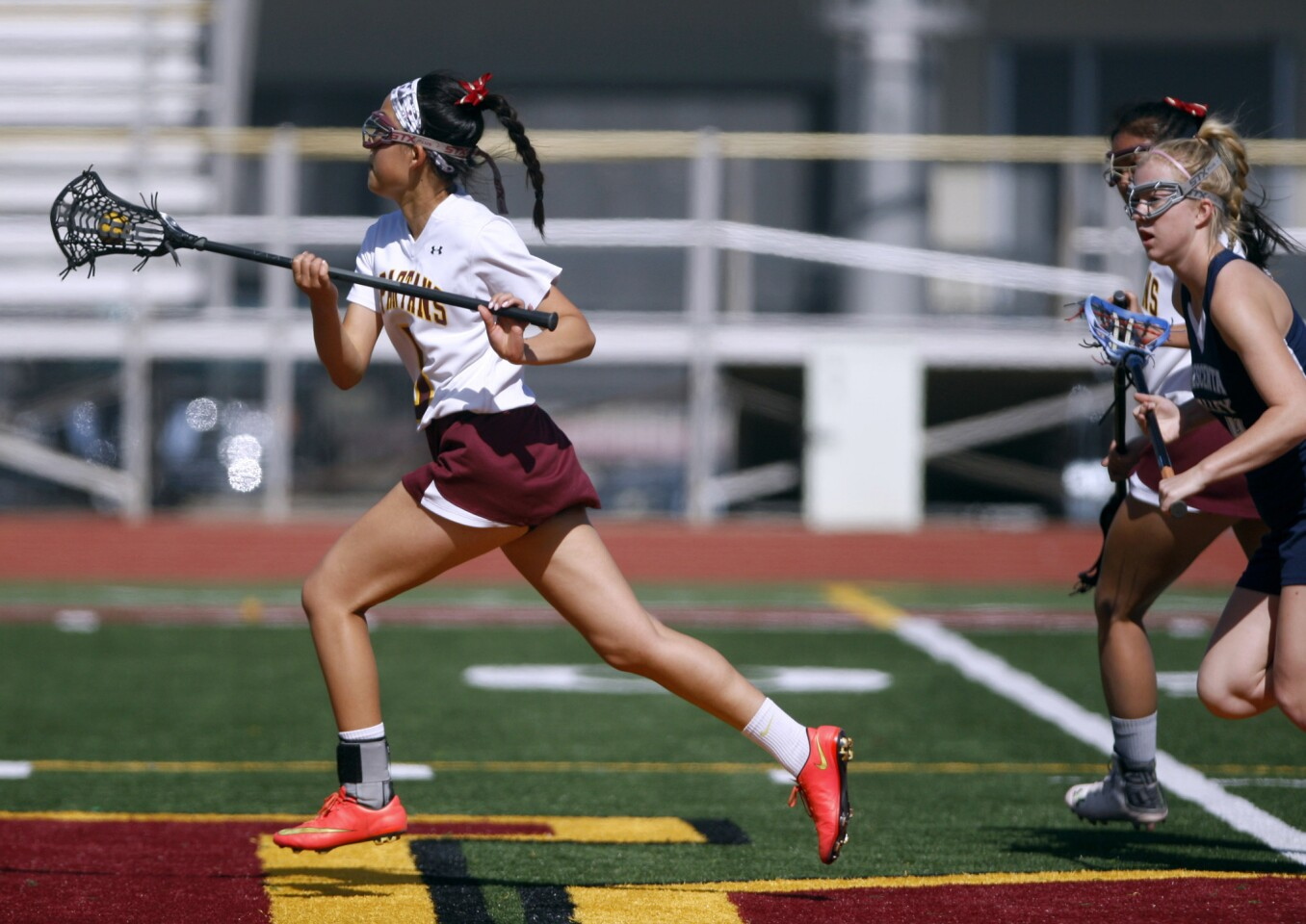 Photo Gallery: Crescenta Valley High School girls lacrosse vs. La Cañada High School