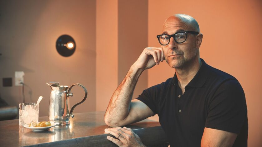 "Stanley Tucci plays the hard-driving misogynistic studio chief in ""Feud."""