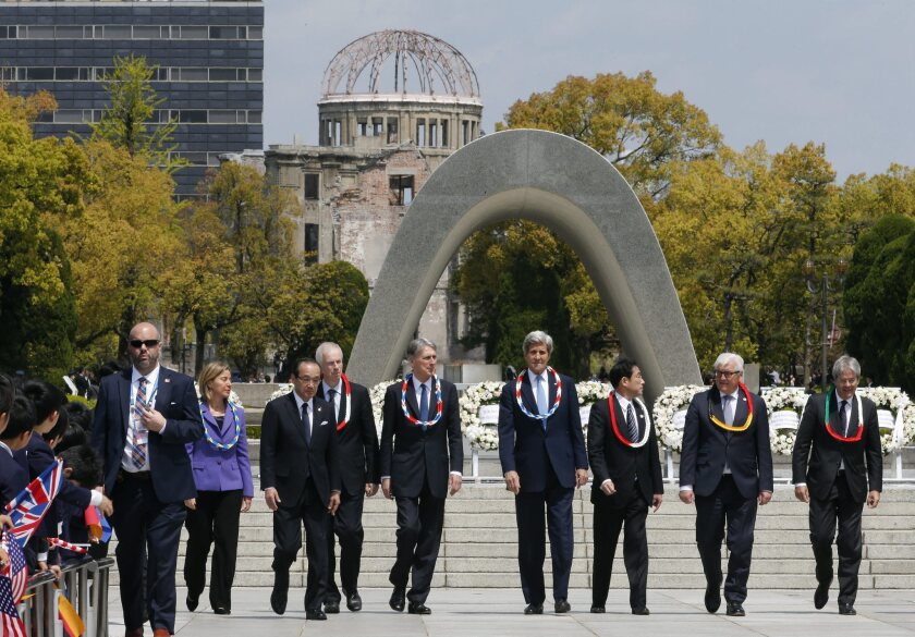 G-7 foreign ministers meeting in Hiroshima