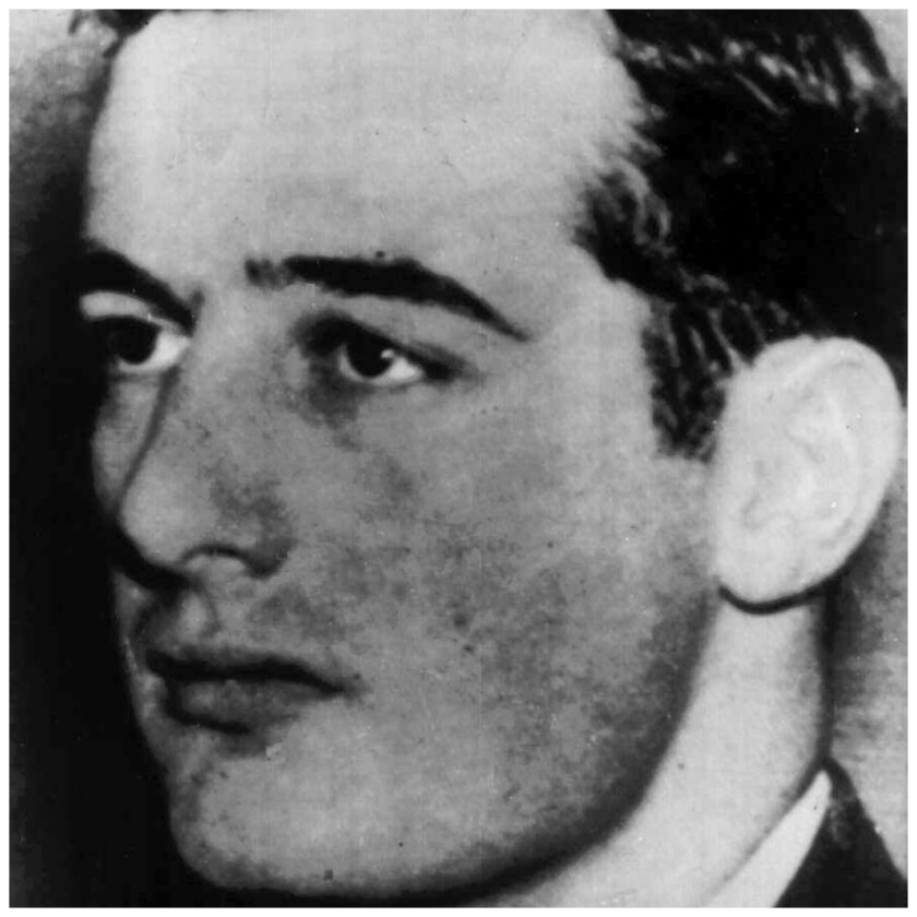 This undated handout photo from Pressens Bild shows Swedish diplomat and World War II hero Raoul Wallenberg. Swedish authorities have formally confirmed on Monday Oct. 31, 2016, that World War II hero Raoul Wallenberg is dead, 71 years after he disappeared in Hungary. The Swedish diplomat, credited with helping at least 20,000 Hungarian Jews escape the Holocaust, is believed to have died in Soviet captivity, though the time and circumstances of his death remain unresolved.