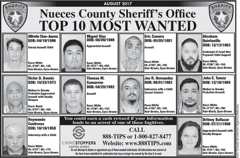 A.B. Quintanilla, ex líder de Kumbia Kings, aparece entre los 10 más buscados en un condado de Texas presuntamente por problema de manutención de sus hijos.