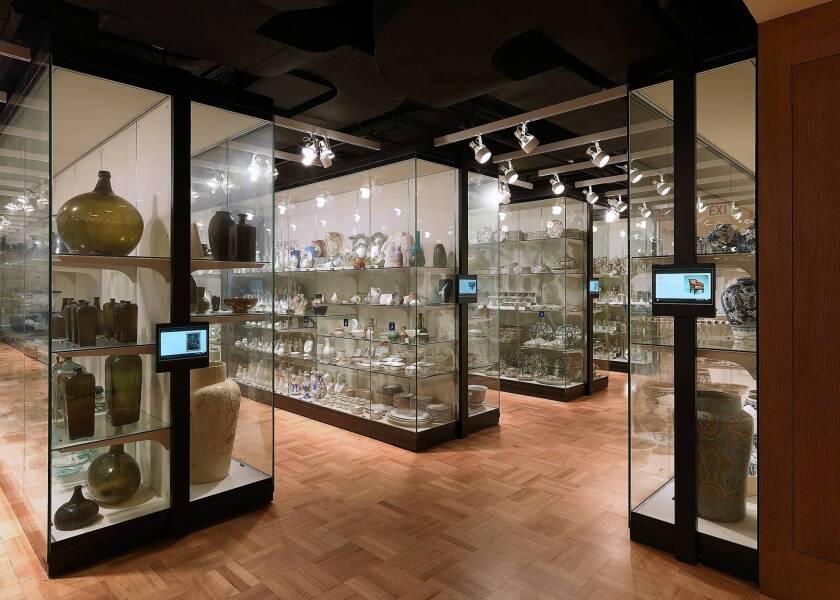 New York's Metropolitan Museum of Art's Henry R. Luce Center packs in 7,129 objects.