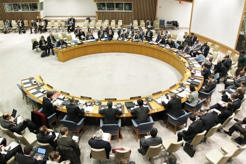 La ONU anunció hoy que entre julio y septiembre recibió 64 nuevas denuncias de supuestos abusos sexuales cometidos por personal de la organización y de entidades con las que colabora sobre el terreno. EFE/Paulo Filgueiras/ONU/SÓLO USO EDITORIAL/NO VENTAS[SÓLO USO EDITORIAL/NO VENTAS]