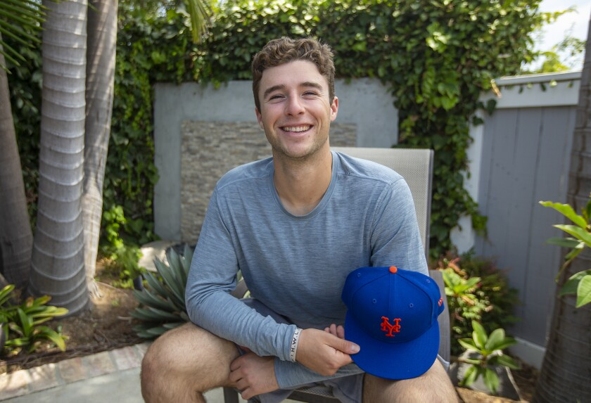 Former Corona del Mar baseball player JT Schwartz, a first baseman, was drafted in the fourth round by the New York Mets.
