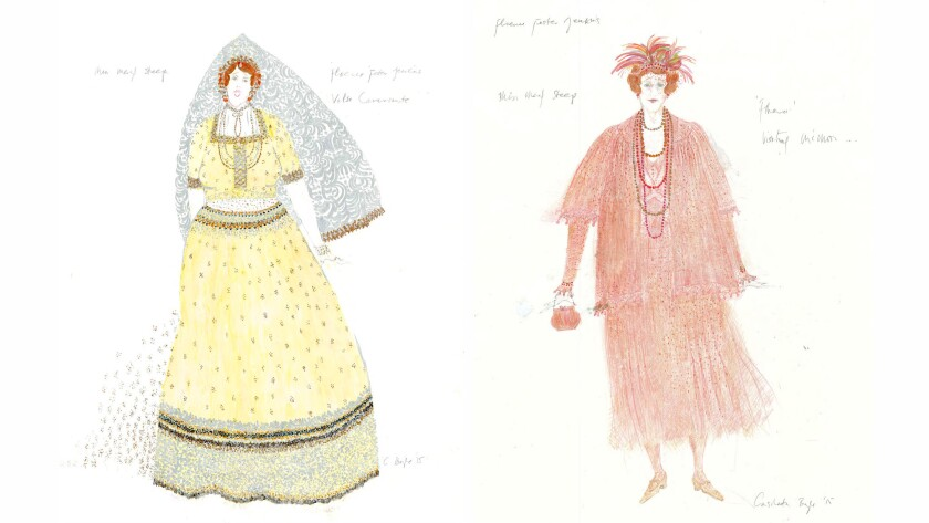 More sketches from Consolata Boyle.