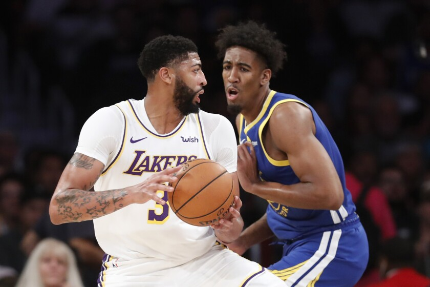 Lakers Newsletter Anthony Davis Is Loving The Help As Team