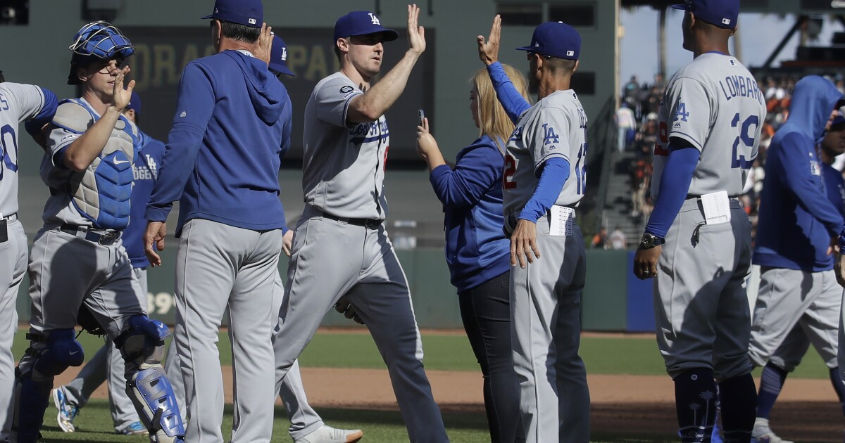 Column: Excitement of another Dodgers' postseason tempered by fear of another failure