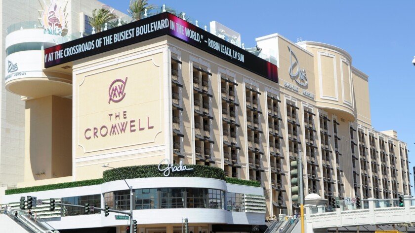 The Cromwell is one of the Las Vegas hotels raising its resort fees.