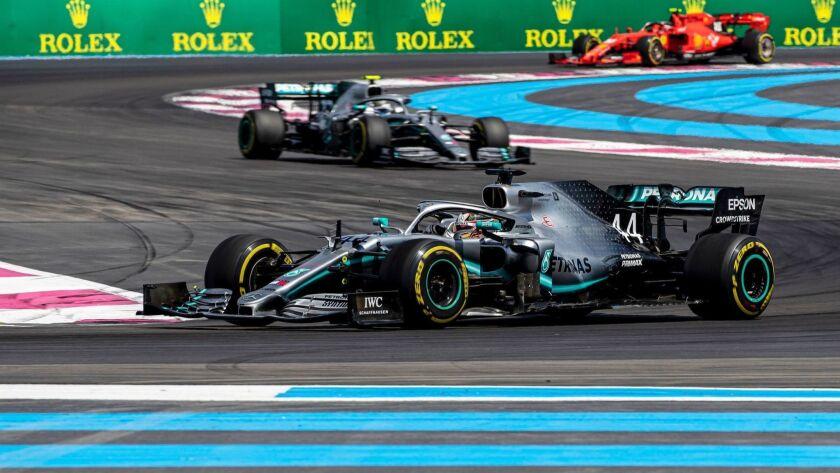 French Formula One Grand Prix, Le Castellet, France - 23 Jun 2019