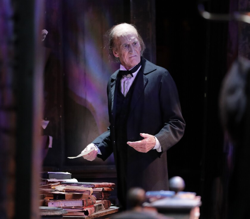 Hal Landon Jr., 78, has played Scrooge in more than 1,400 performances.