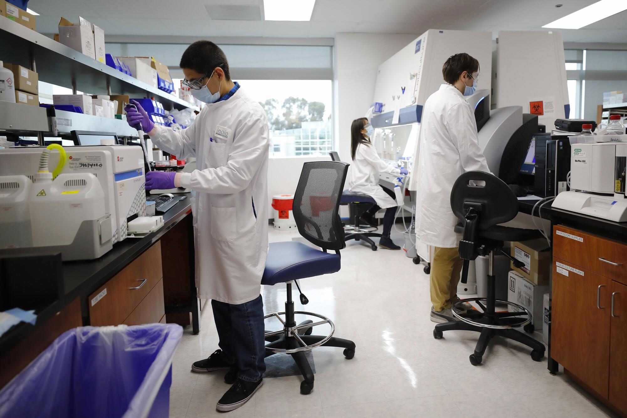 Inovio Pharmaceuticals, a biotech company in San Diego