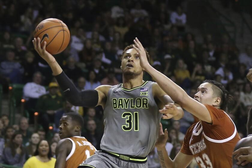 Texas Baylor Basketball